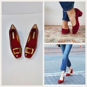 Enzo Angiolini Ruby Red Loafer